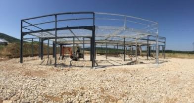 Construction d'un immeuble de bureaux CETRA INVEST - ZA du Noret à MAMIROLLE